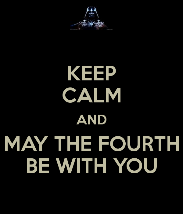 How To Respond To May The 4th Be With You: Adventures Of Cap'n AuxInterlude: May The Fourth Be With