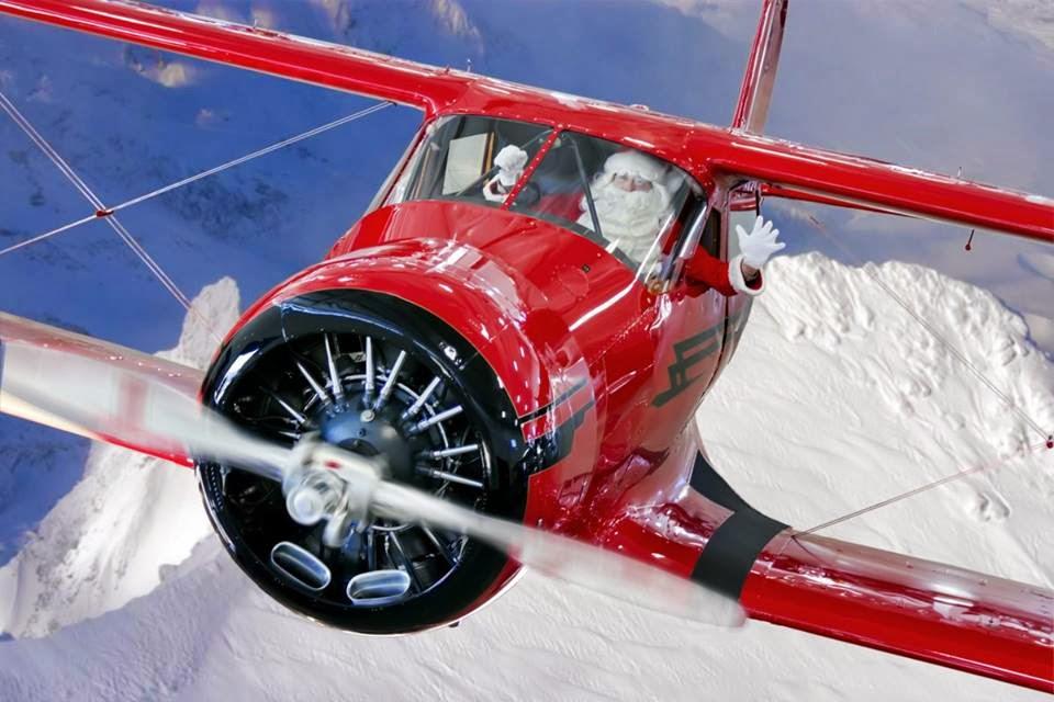 capn aux capnaux captain aux aux novel blog - Aviation Christmas Cards