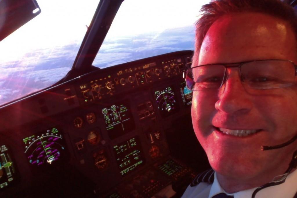Cockpit Selfie 2