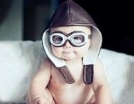 baby pilot!