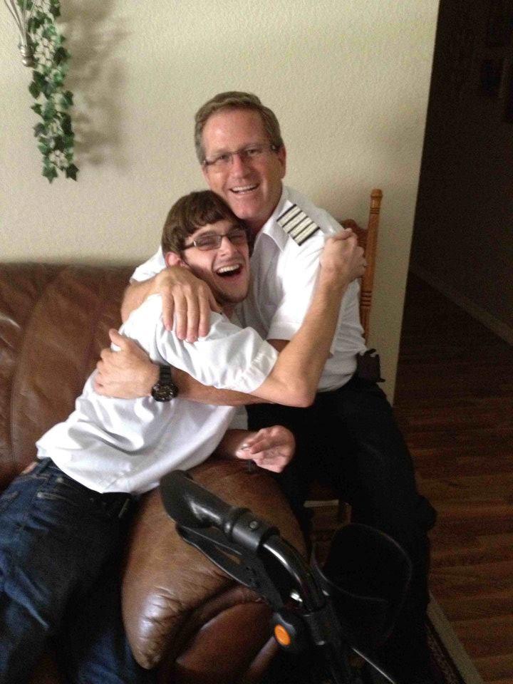 Me Dillon Hug!