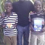 Kelvin and his nephews!