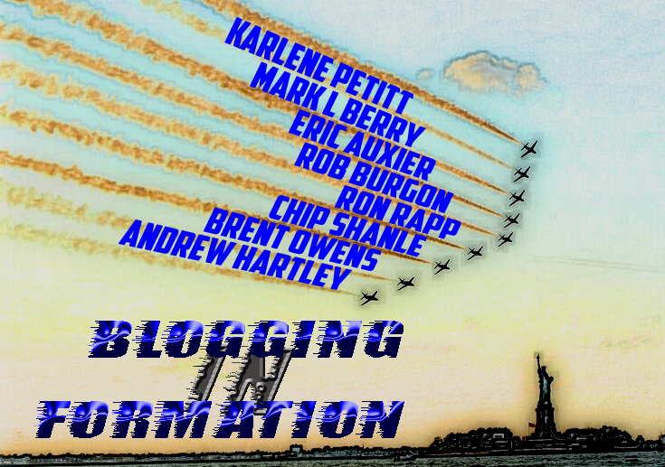 Blogging in Formation Logo