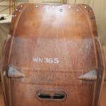 History still intact as pilot seat has the prototype WN365 still untouched