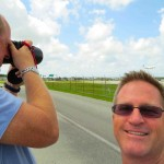 Spottin' with the master, Mark Lawrence of NYCAviation.com! (See his guest post on KFLL's new runway!)