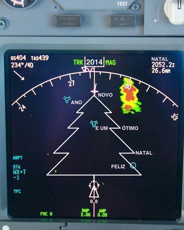 Have a Merry Flight Plan!
