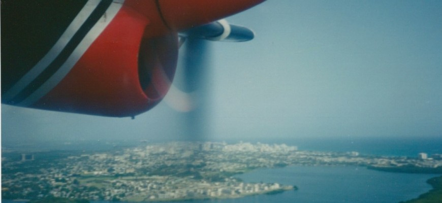 DHC-6 Twin Otter over San Juan
