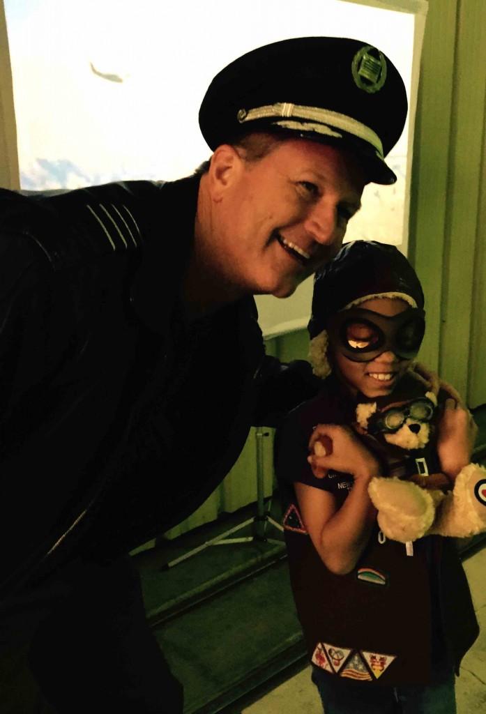 Aux Pilot Hat Kid