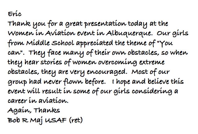 WOAW HS Letter!