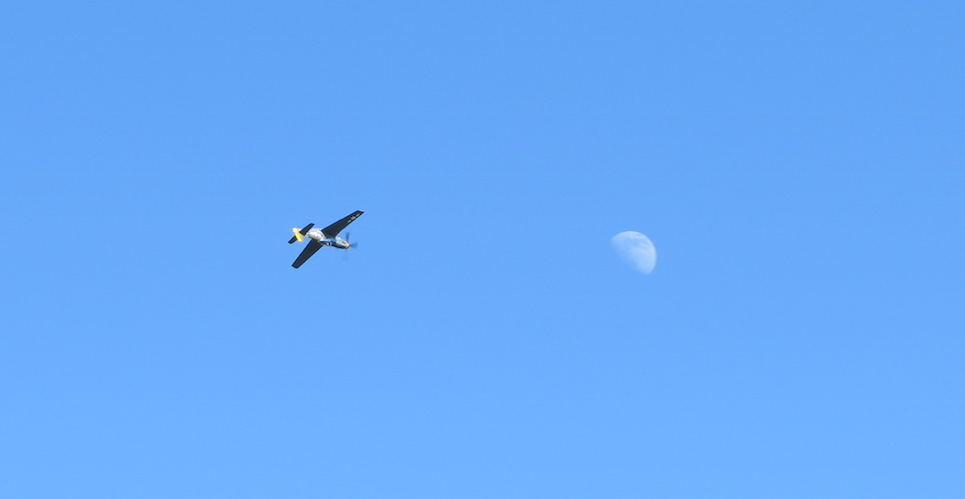 P-51 Mustang and moon OSH17—A Primer!