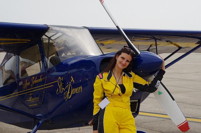 Anna Serbinenko and SkyDancer