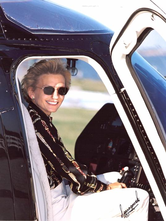 Women of Aviation helicopter pilot Dianna Stanger