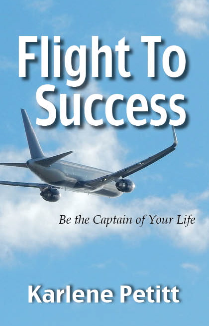 CoverFlightToSuccess; Karlene Petitt; women in aviation