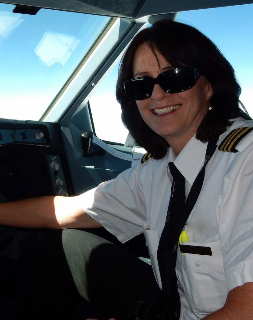 Karlene Petitt; women in aviation