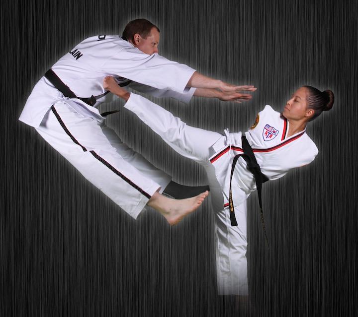 Patrick and Jessica Taekwondo Lo