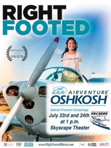 Right Footed US Premiere Poster Lo