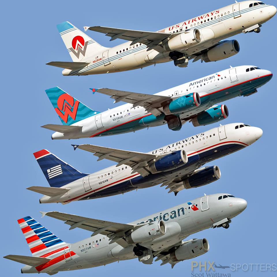 American Airlines Legacy USAirways America West