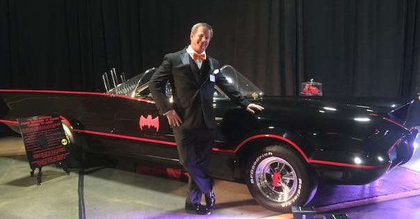 Batmobile and Cap'n Aux