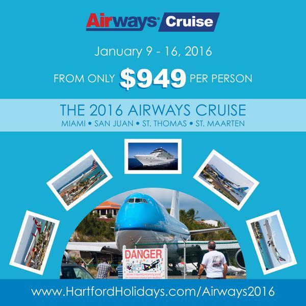 Airways Magazine 2016 Cruise flyer