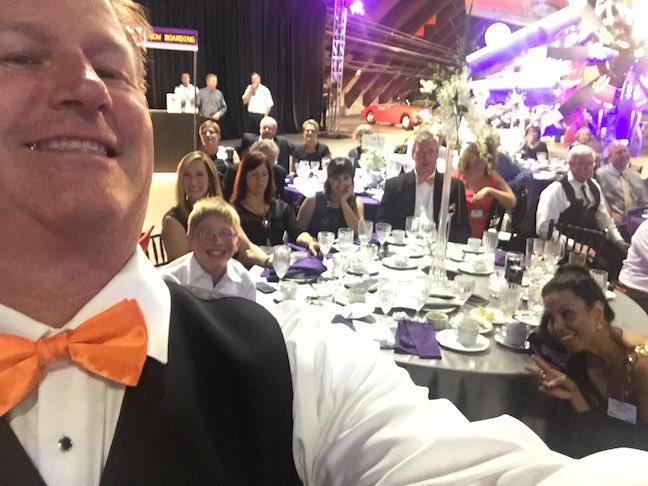 Fairey Gannet Team Selfie