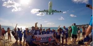 Airways Maho Banner! Xtra