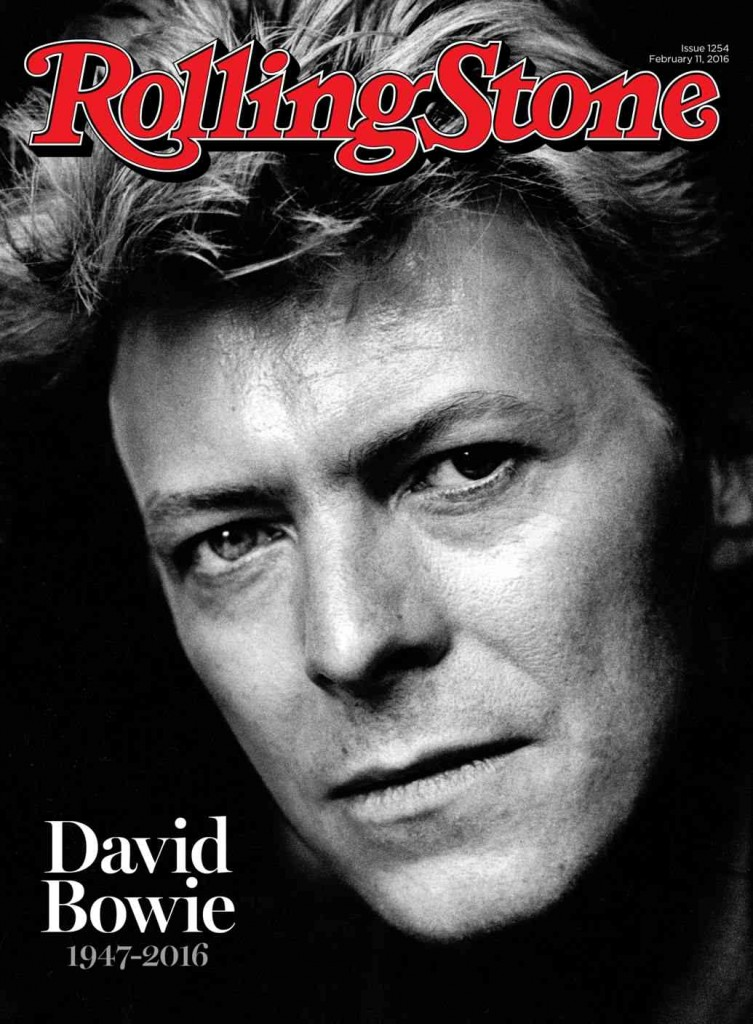 Bowie Rolling Stone cover
