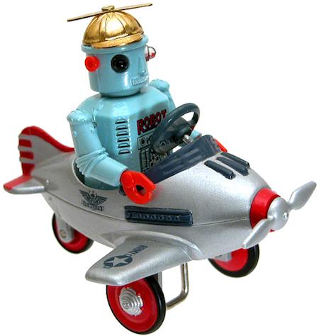 Robot Pilot Toy