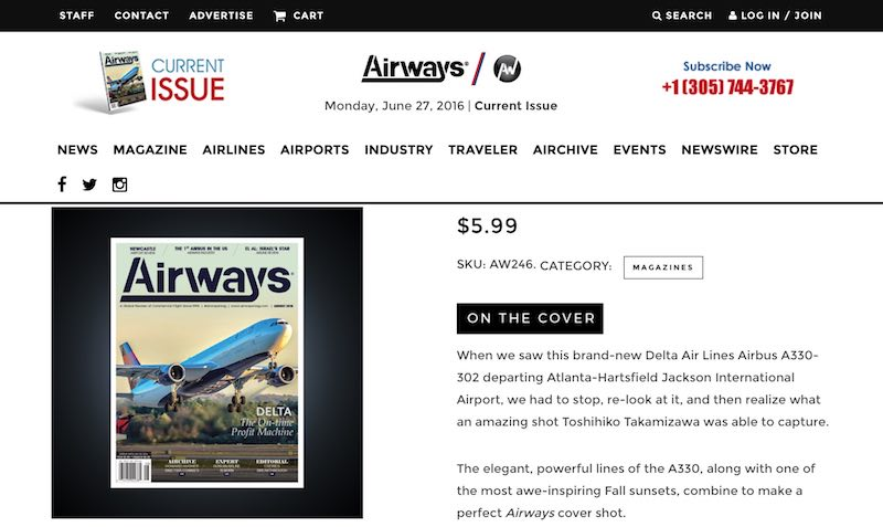 Airways Website New