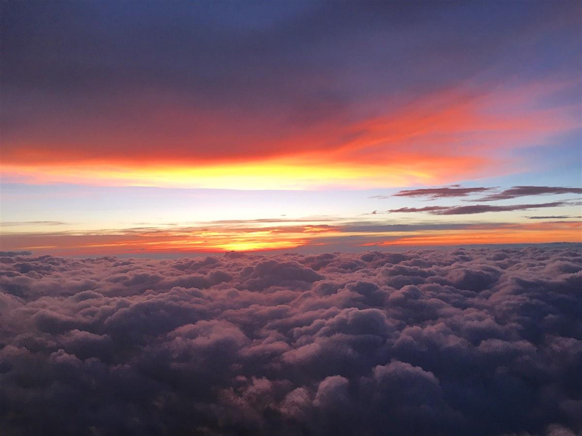 Sunset Clouds Hi