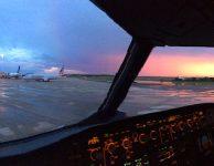 cockpit-sunset-ground-pano-mco