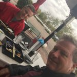 """Christmas lunch with Team Aux's John """"Otto Pilot"""" Keith!"""