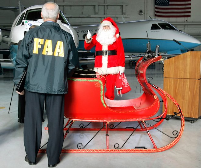 FAA Santa Burning Pianos With F-22 Fighter Pilot Major Rob Burgon