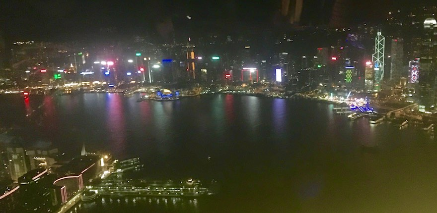 HK Night Pano Aerial Adventures Hong Kong Style!