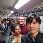 Dante escorts us along the excellent HK subway system!