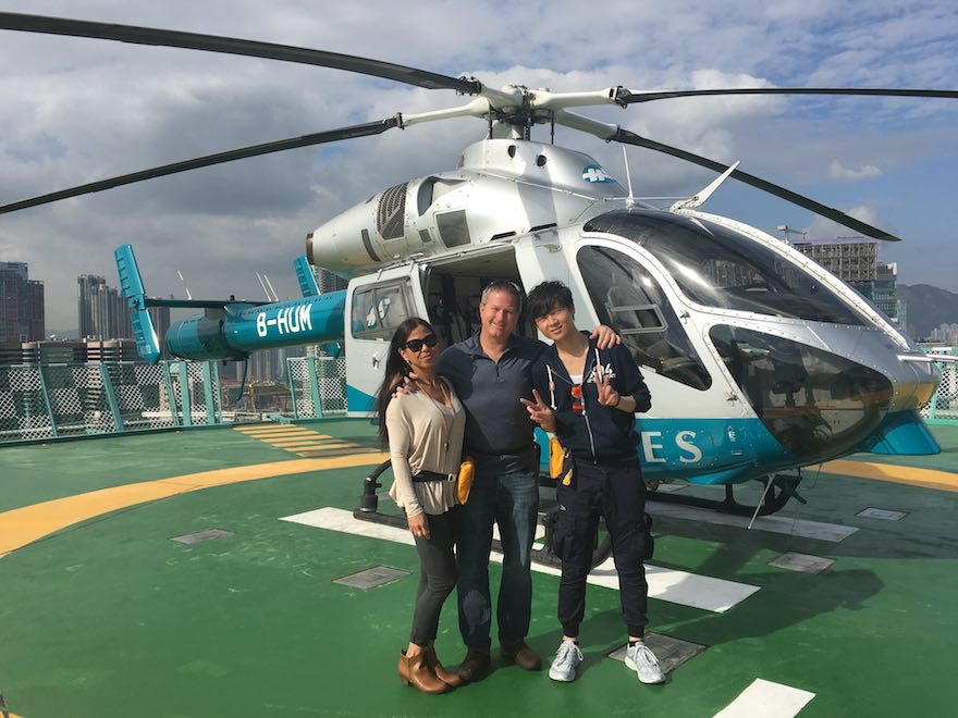 Helipad Aux MA D! Aerial Adventures Hong Kong Style!