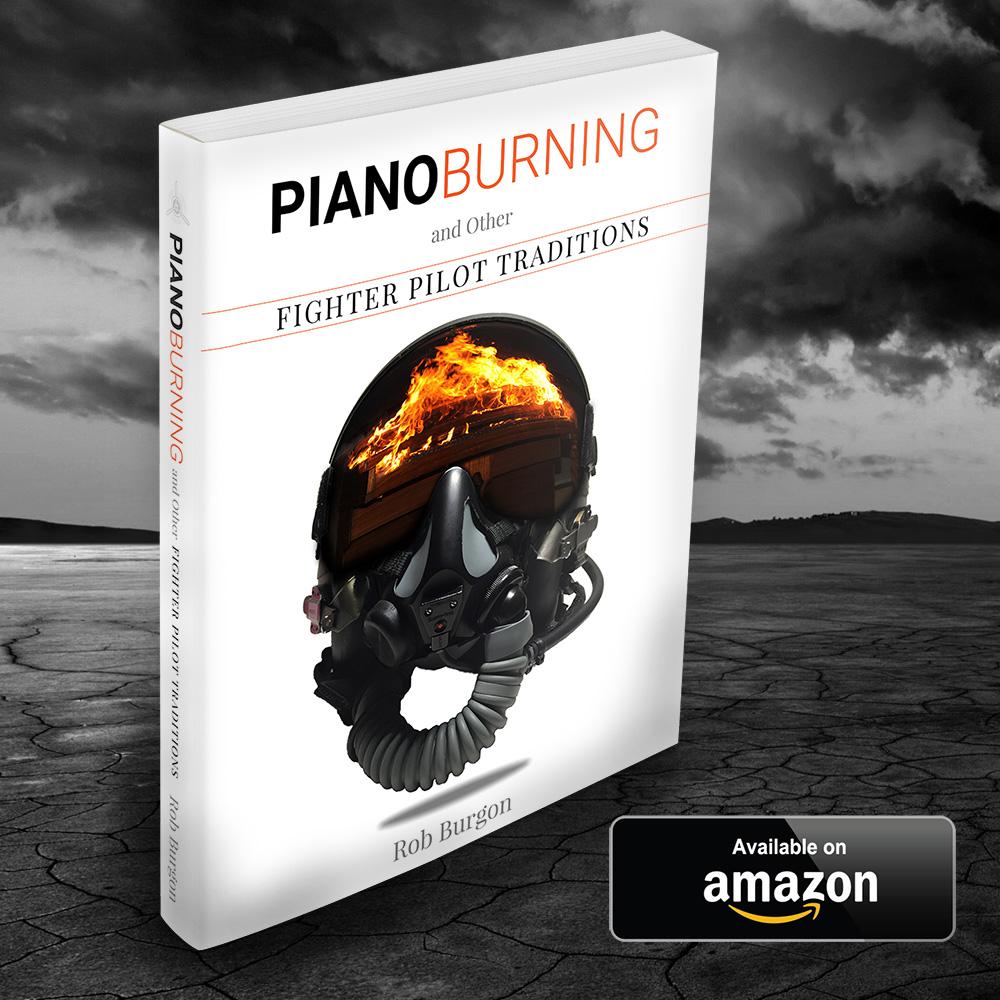 Piano Burning - Burning Pianos with F22 Fighter Pilot Rob Burgon