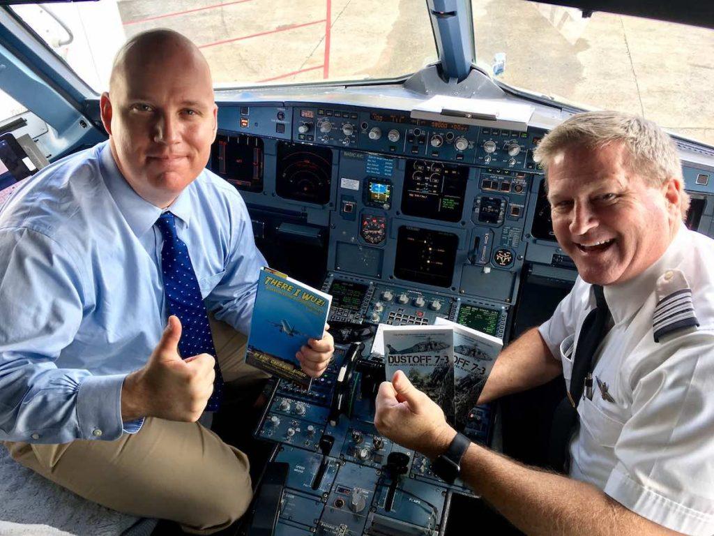 Aux Heli Author Cockpit Blogs, Blog Buddies...and United's (Un)Friendly Skies?