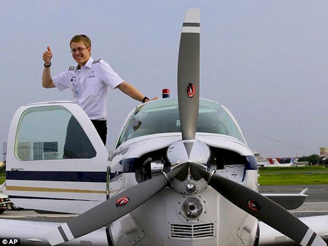 Matt G young pilot!