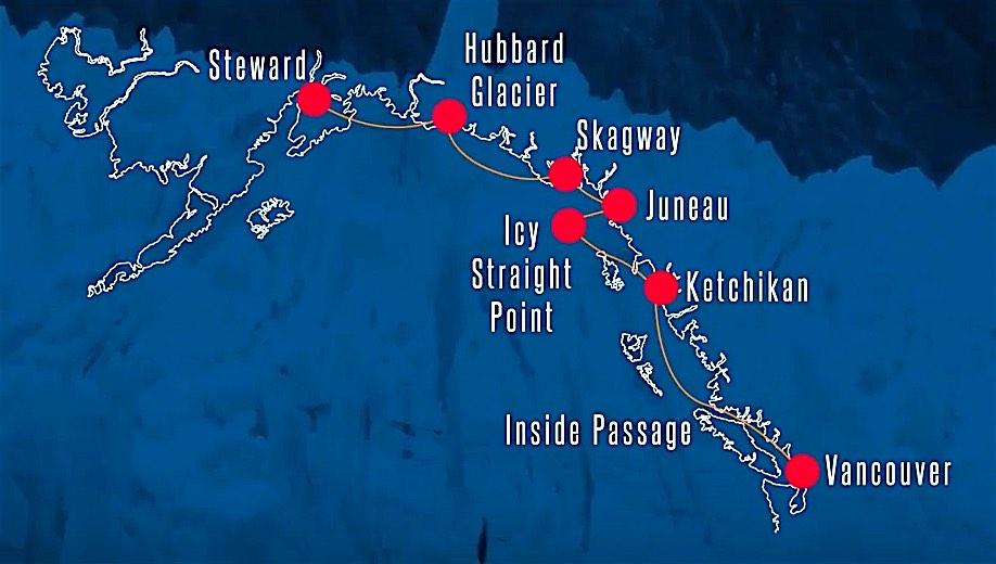 AK Airways Cruise Map Cruising to an Alaska Aviation Adventure!