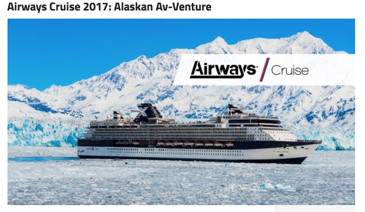 AWM Cruise Banner Scorching Hot Planes & Icy Airways Adventures!