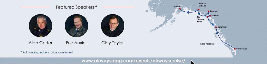 Airways Cruise Alaska Speakers