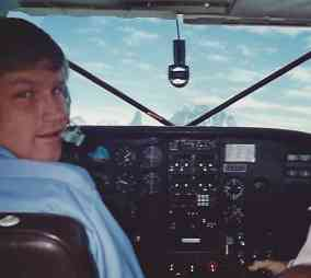 Aux AK Cockpit Cruising to an Alaska Aviation Adventure!