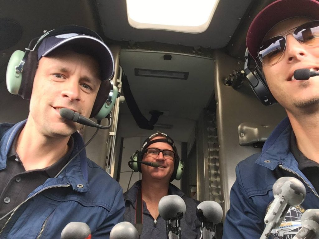 3 Cockpit Amigos via Raph