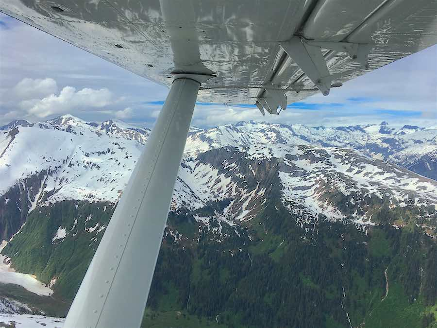 Wing JNU Icefield Mtns