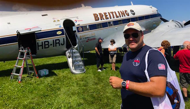 Jumpseating on the Breitling Round the World DC-3 Part 3!