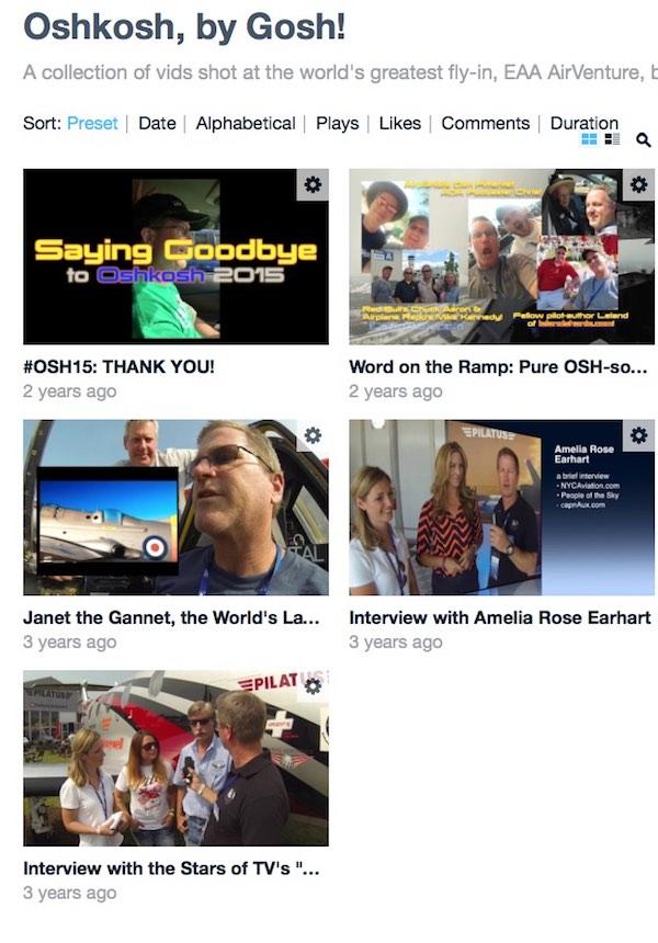 OSH17—A Primer! Oshkosh vimeo collection