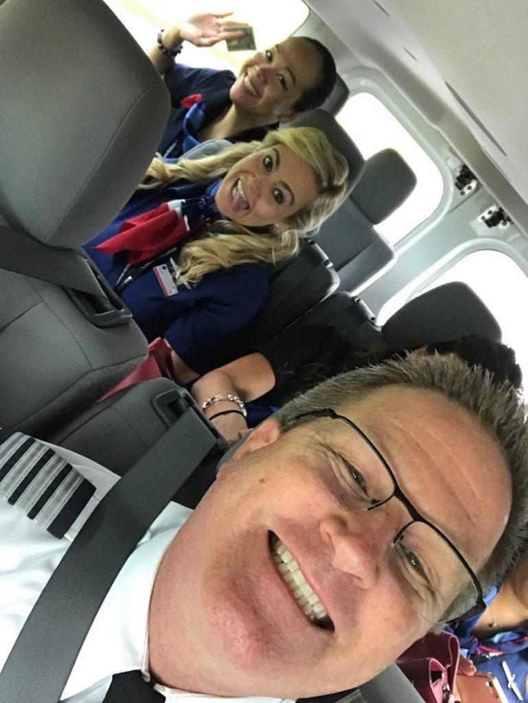 Happy National Aviation Day 2017! crew van
