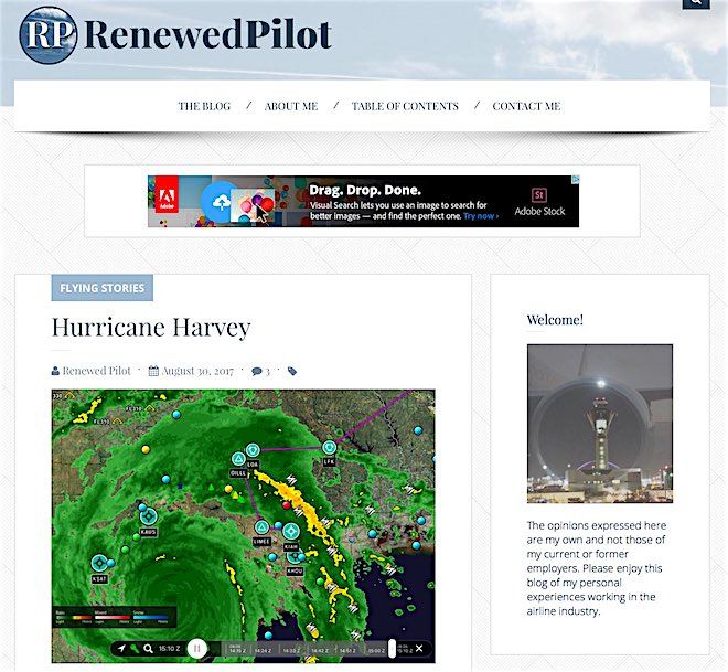 Renewed Pilot SS IAH, HOU, MSY, #HurricaneHarvey and YOU!