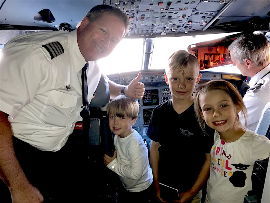 Aux and kids cockpit! #Bombogenesis and Airlines—How do Pilots Cope?