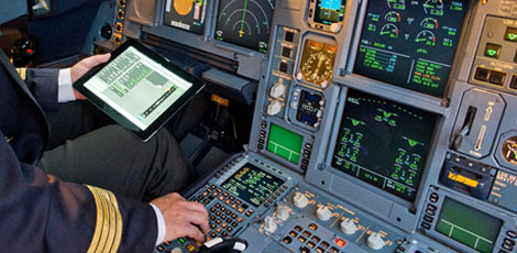 cockpit iPad #Bombogenesis and Airlines—How do Pilots Cope?